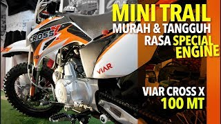 Download MOTOR TRAIL INDONESIA HARGA 9 JUTAAN   VIAR CROSS X 100 MT Video