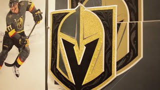 Download Building the Vegas Golden Knights logo Video