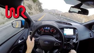 Download 2017 Ford Focus RS - WR TV POV Canyon Drive Video