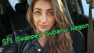 Download BADDEST Female Driven STI Swapped Subaru Wagon! Video