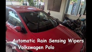Download Automatic Rain Sensing Wipers in Volkswagen Polo - Highline / AllStar / GT Video