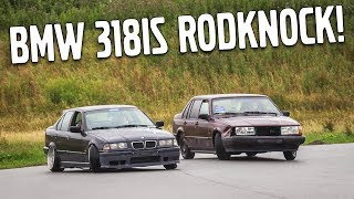 Download Stanced Drift BMW 318is Gets Rodnock! - Volvo Turbo Drift Action! Video