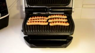 Download Frying Traditional Irish / English Sausage On Tefal Optigrill Video
