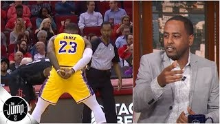 Download LeBron James' no-hands defense is 'showing up the refs' - Amin Elhassan | The Jump Video