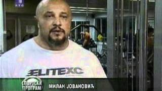Download Milan ″Strongman″ Jovanovic on RTS ( Serbian national TV).avi Video