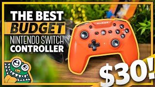 Download The BEST Budget Nintendo Switch Controller - Surge SwitchPad Pro - Review and Unboxing + GIVEAWAY! Video