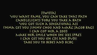 Download Twista - Overnight Celebrity [lyrics on screen] Video