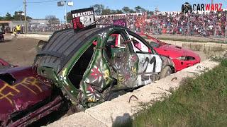 Download 6 Cyl Car Class Demolition Derby At West Niagara Fair 2017 Camera 2 Video