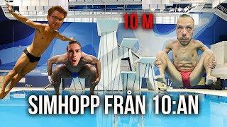 Download VI TESTAR SIMHOPP FRÅN 10:AN. (PUNGKULAN GICK SÖNDER) Video