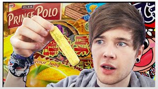 Download TRYING FOOD FROM AROUND THE WORLD!! Video
