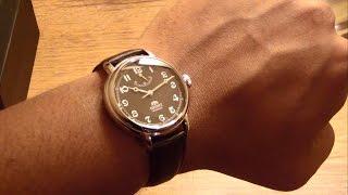 Download Unboxing my Orient Monarch FDD03002B0/DD03002B Mechanical Dress watch. Video
