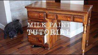 Download Milk Paint Tutorial Video