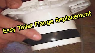 Download Toilet Flange Install New Repair Flange To Lead Pipe 👍👍👍 Video