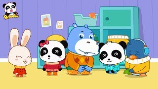 Download Baby Panda Wears Shoes | Kids Good Habits | Safety Tips for Kids | BabyBus Video