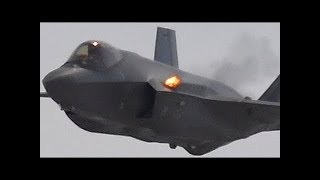 Download F-35 Lightning Jet 25mm Cannon Firing! GAU-22 Equalizer Video