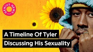 "Download Tyler, The Creator Used To Be Accused of Homophobia, Now Raps About ""Kissing White Boys"" Video"