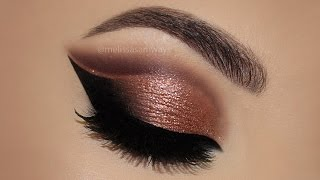 Download ⭐ Copper Cut Crease Glitter MakeUp Tutorial | Melissa Samways ⭐ Video