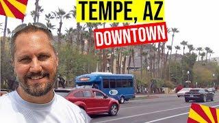 Download Tempe, Arizona Tour (Downtown): Mill Ave   Moving / Living In Phoenix, Arizona Suburbs (Tempe, AZ) Video