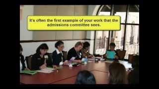 Download Writing a Winning Graduate School Statement (workshop) Video