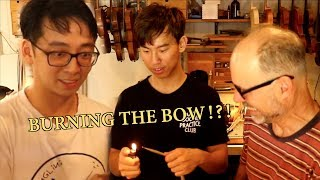Download We Try Rehairing a Violin Bow Video