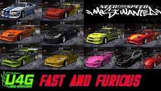 Download Global Fast and Furious Car Pack Need For Speed Most Wanted 2005 Mod Spotlight Video