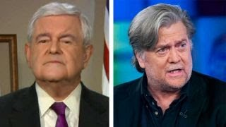 Download Newt Gingrich: Steve Bannon has the 'wrong strategy' Video