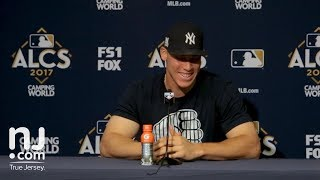 Download Aaron Judge on winning game 4 of the ALCS at home Video