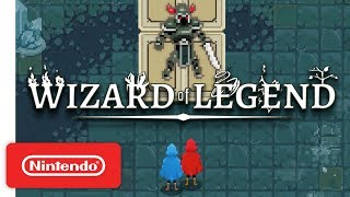 Download Wizard of Legend Launch Trailer - Co-op Spell-Slinging Action - Nintendo Switch Video