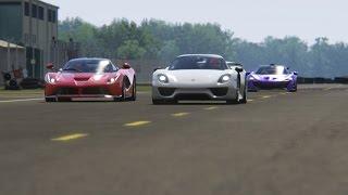 Download Battle Porsche 918 Spyder vs Ferrari LaFerrari vs McLaren P1 at Top Gear Video