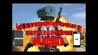 Download PUBG on mobile! Players Unknown Battle Grand Video