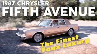 Download The Finest Faux-Luxury: 1987 Chrysler Fifth Avenue. Video