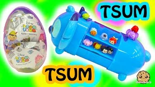 Download Series 2 Giant Disney Tsum Tsum Collection Case + 10 Surprise Mystery Blind Bags In Egg Video