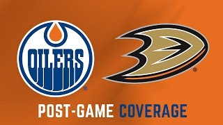 Download LIVE | Post-Game Coverage - Oilers at Ducks - Game 2 Video
