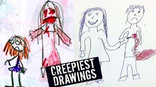 Download 5 CREEPIEST KIDS DRAWINGS Video