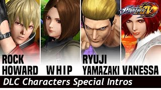 Download KOF XIV : DLC Characters Special Intros Video