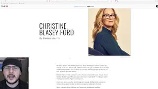 Download Christine Blasey Ford Listed ALONGSIDE Kavanaugh As TIME 100 MOST Influential??! Video