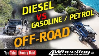 Download DIESEL vs GASOLINE / PETROL OFF-ROAD, which is better? Video