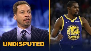 Download Chris Broussard weighs in on how Draymond will affect KD's decision this summer | NBA | UNDISPUTED Video