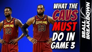 Download What The CAVALIERS MUST DO To Win Game 3 Video