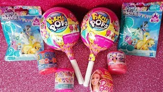Download My Little Pony Pikmi Pops Giant Lollypop surprise eggs blind bags unboxing Mashems Video