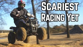Download The Day We Almost Died | Insane Mini ATV vs. Built TrailMaster Video