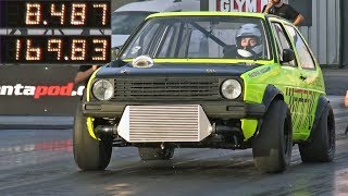 Download TTK Performance 1200HP Golf Mk2 - AWD VR6 World Record Holder Video