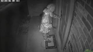 Download SCARY KILLER CLOWN TRIES TO BREAK INTO MY HOUSE AT 3AM! *CAUGHT ON SECURITY CAMERAS* Video