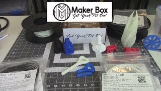 Download Maker Box - So much 3D Printer Filament! Video