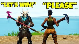 Download HELPED HIM WIN *FIRST* GAME OF FORTNITE IN SEASON 6!!! (Unlocking Webrella) Video