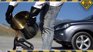Download What Happens when Liquid Nitrogen hits Boiling Motor Oil?!! (#ad) Video