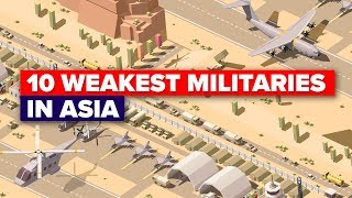Download 10 Weakest Armies in Asia in 2018 - Military / Army Comparison Video