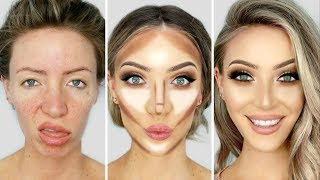 Download 0-100 GLOW UP MAKEUP TRANSFORMATION! Video