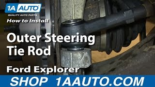 Download How To Install Replace Outer Steering Tie Rod 1998-2003 Ford Explorer Mercury Mountaineer Video