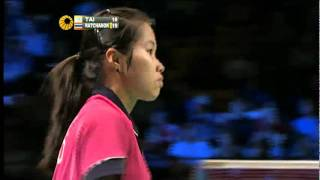 Download QF - WS - Inthanon Ratchanok vs Tai Tzu Ying - 2011 Yonex Denmark Open Video